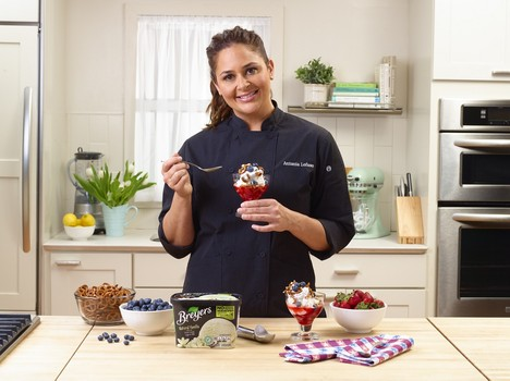 chef antonia lofaso discusses career family and new venture with breyers writerjudy s blog chef antonia lofaso discusses career