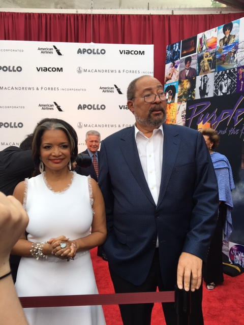 Apollo Theater CEO Jonelle Procope and Entertainment exec Richard Parsons.