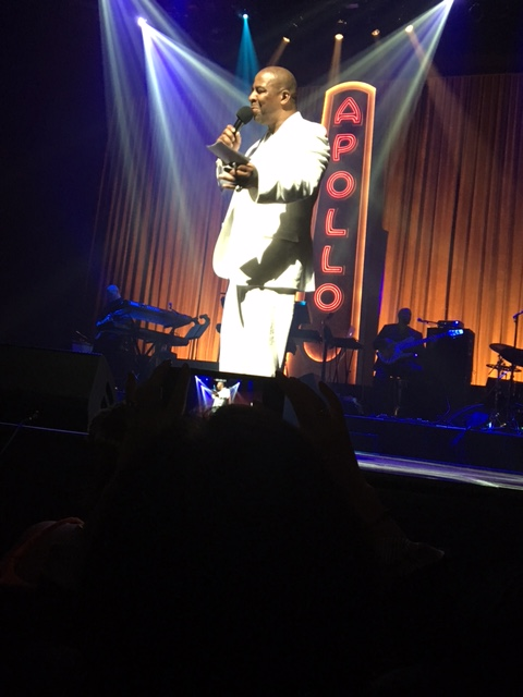 Comedian Capone hosts Amateur Night at the Apollo.