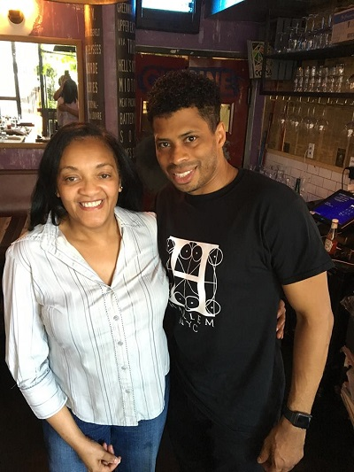Writer, Judith Davis and Broadway Actor Chester Gregory