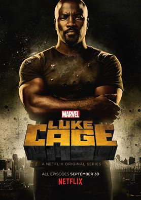 Actor Mike Colter from the Netflix show Luke Cage
